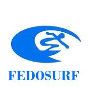 Fedosurf logo Small República Dominicana Surf Surfing