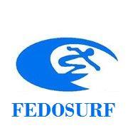 Fedosurf logo Small República Dominicana Surf Surfing
