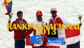 Ranking Nacional 2013 Federación Dominicana de Surfing FEDOSURF