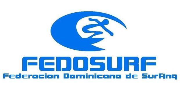 federación dominicana de surfing logo