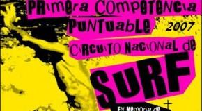 1ra Competencia Puntuable de Surf Playa Puntilla POP 2007