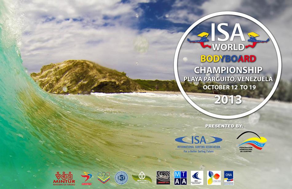 ISA WORLD LONGBOARD CHAMPIONSHIP 2013 Poster