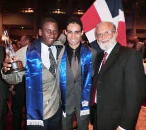 Alex de la Cruz, Premiación Gala Olímpica 2013-3