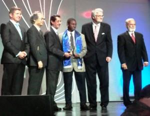 Alex de la Cruz, Premiación Gala Olímpica 2013