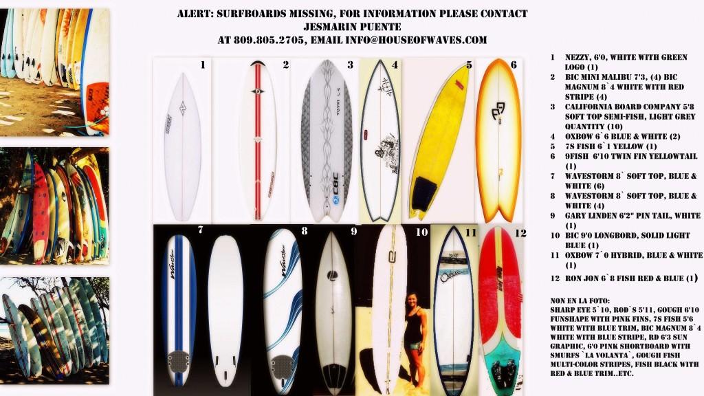 Utilería Deportiva Escuela de Surf