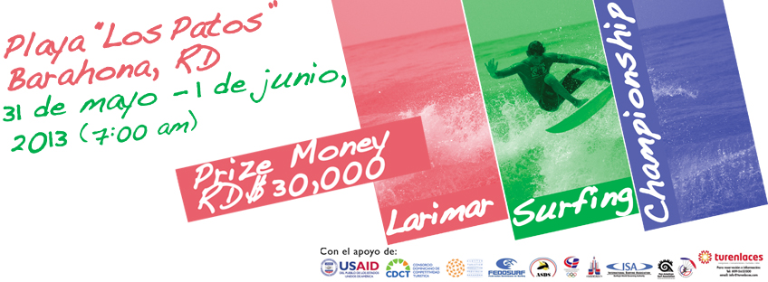 Larimar Surfing Championship Portada Facebook