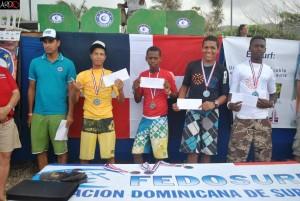 Junior Surf (Sub 18) Ganadores