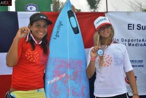 Ramirez and Olmedo Larimar Surfing Championship 2013