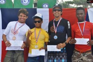 Ganadores Open Surf Gomez, Feliz, Viñas, De La Cruz