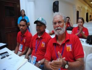 Raúl Van Eiken, Daniel Francisco y Néstor Puente Encuentro Federativo 2013