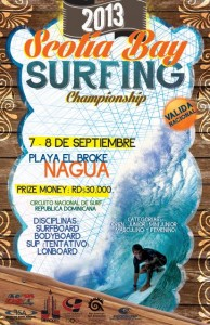 SCOTIA BAY SURFING CHAMPIONSHIP 2013 FEDOSURF POSTER 1