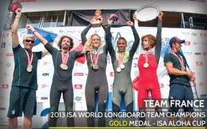 Fracia Gana Mundial Longboard por Paises