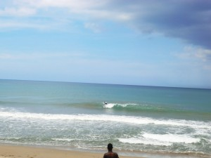Surfer en el Scotia Bay Surfing Championship Playa El Broke Nagua Dominican Republic 1