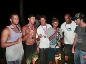 Angel Compres, Robinson Liriano, Junior Gómez, Edwin Féliz, Isaac Gil, Manuel Piñeyro - Scotia Bay Surfing Championship Playa El Broke Nagua Dominican Republic (9)