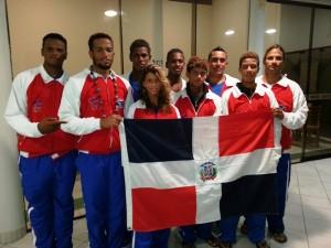 Selección Nacional de Surf RD en los Juegos Bolivarianos 2013