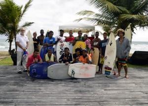 La Novia del Atlantico Surfing Championship Playa La Bomba Cabarete FEDOSURF