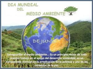 Dia Mundial del Medio Ambiente COMISION DEPORTE, MEDIO AMBIENTE Y RECURSOS NATURALES COD Felicita Heredia