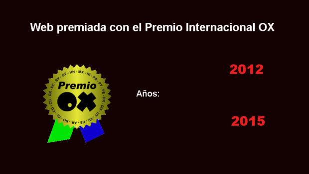 Fedosurf ganadora premio internacional OX 2015 y 2012