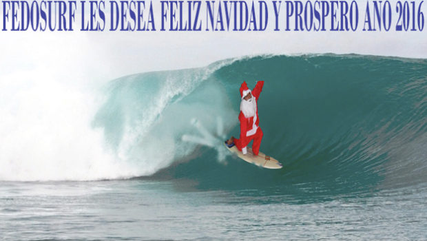Navidad y Nuevo año FEDOSURF 2016 Slide